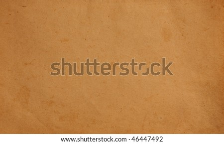Plain old aged paper textured background - stock photo