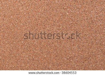 Plain old ordinary seamless corkboard background - stock photo