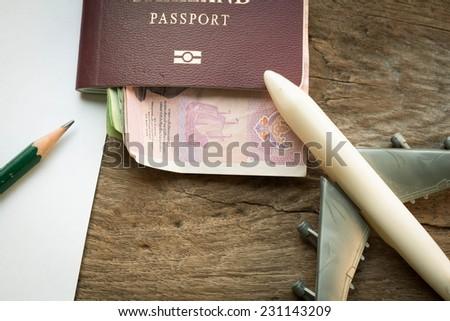 Plan to travel  - stock photo