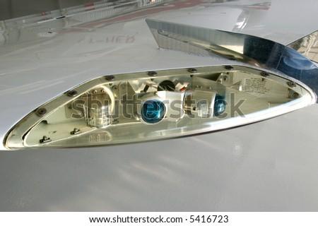 plane lamp - stock photo