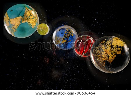 planete constellation en u