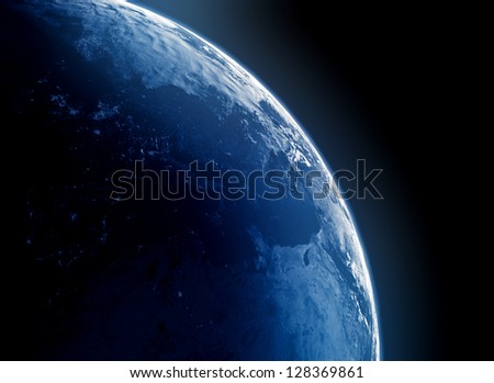 Planet Earth - stock photo