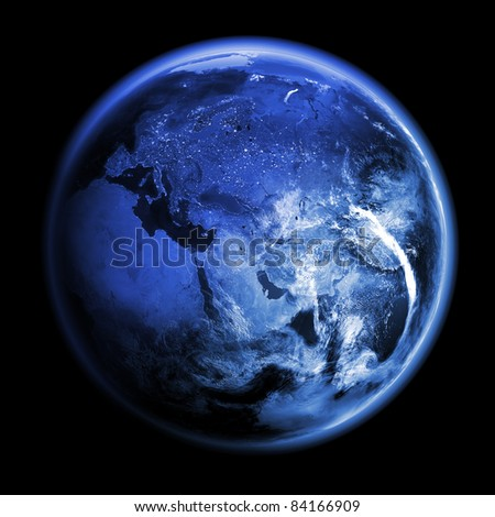 Planet Earth 3d render. Earth space model, Elements of this image furnished by NASA