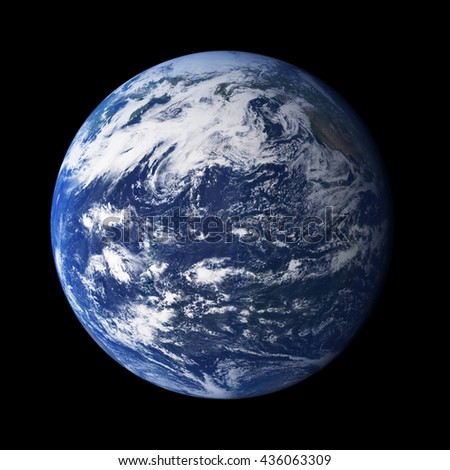 Planet earth. Elements are furnished by NASA