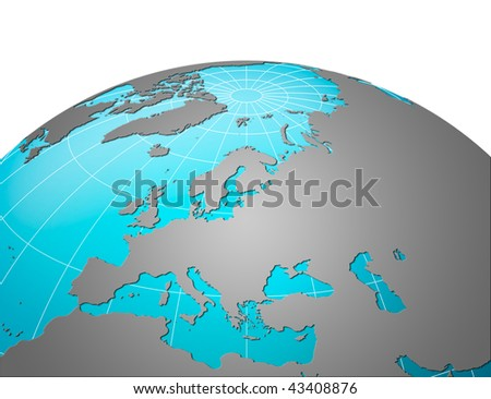 Planet earth, Europe centric