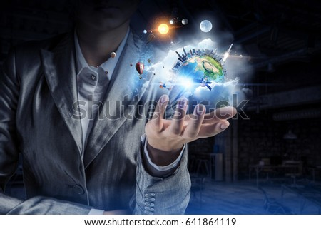 Planet Earth in our hands