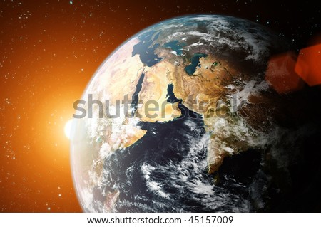 Planet Earth (use image from NASA site)