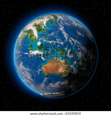 New zealand map 3d stock images royalty free images for Outer space design australia