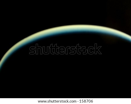 planet in shadow