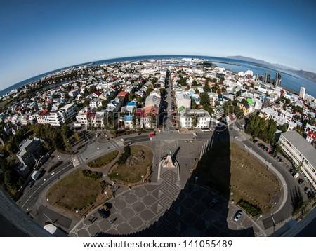Planet Reykjavik - stock photo