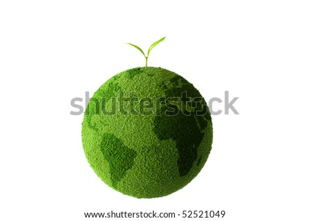 Planet with tree and Sprout