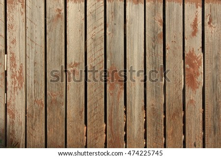 Plank as background