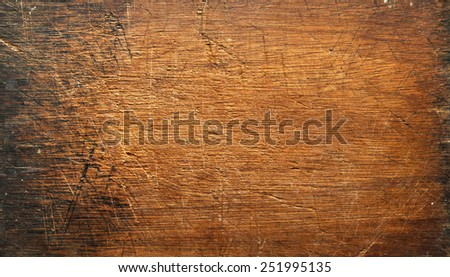 plank wood texture brown board blank background - stock photo