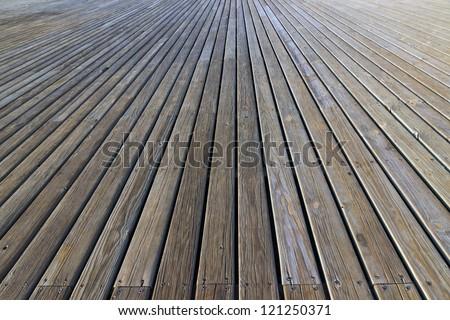 plank wooden structure floor background - stock photo