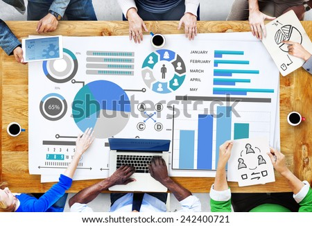 Planning Plan Strategy Data Information Policy Vision Concept - stock photo
