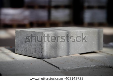 Plant for the production of bricks