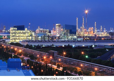 Plant of factory for business industrial in Thailand. - stock photo