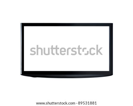Plasma Screen - stock photo