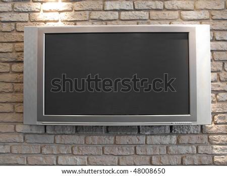 Plasma TV - stock photo