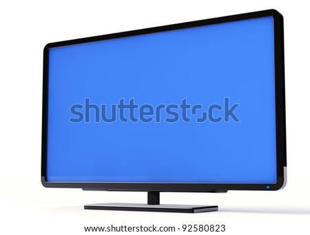 Plasma TV - stock photo