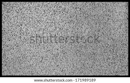 Plasma TV screen  - stock photo