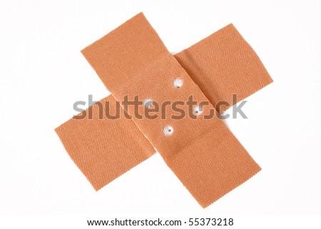 plaster - stock photo