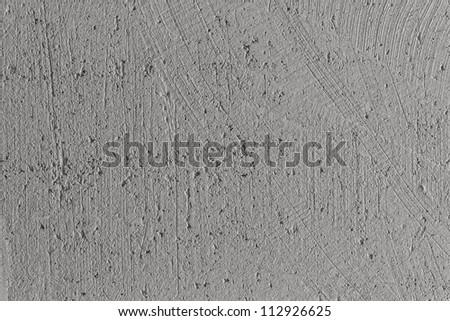 plaster grey texture closeup - stock photo