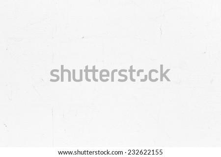 plaster white wall - stock photo