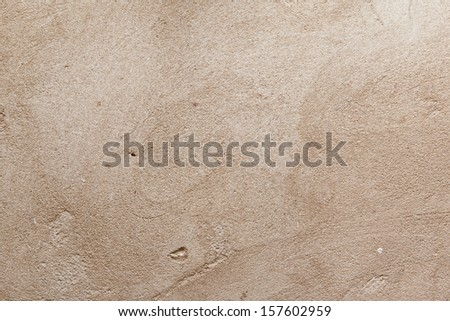 Plastered wal texture for background - stock photo