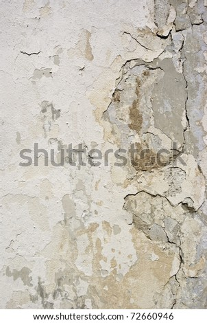 plastered wall texture for your design - stock photo