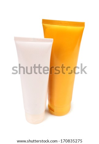 Plastic and glass tubes for lotion