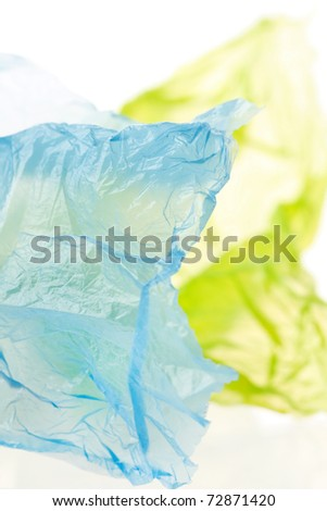 plastic background - stock photo