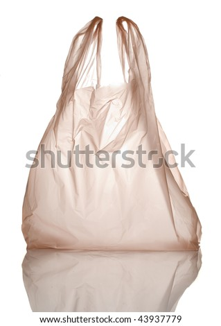 plastic bag - stock photo