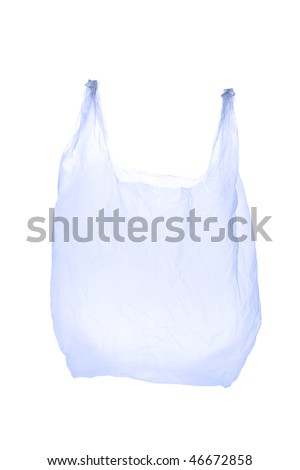 Plastic bag - stock photo