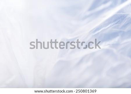 plastic bag abstract - stock photo