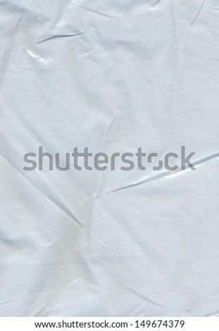 Plastic bag background - stock photo