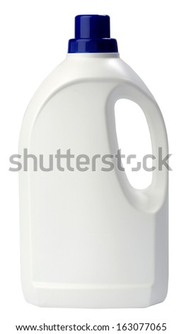plastic bottle - stock photo