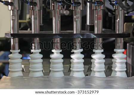 Plastic Bottle Blow Molding Machine in factory