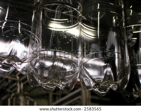 Plastic bottles - stock photo