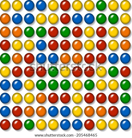 plastic caps - construction toy - seamless mosaic background