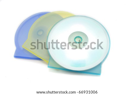Plastic CD Cover