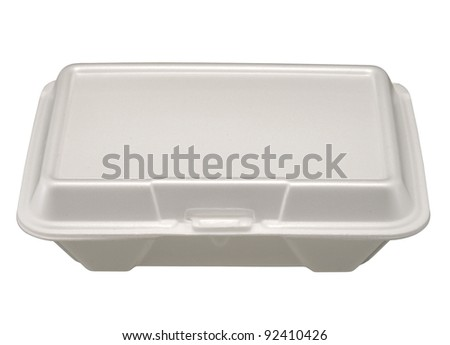 plastic container, - stock photo