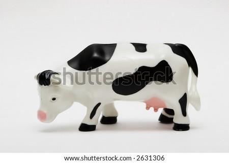 Plastic Cow - stock photo