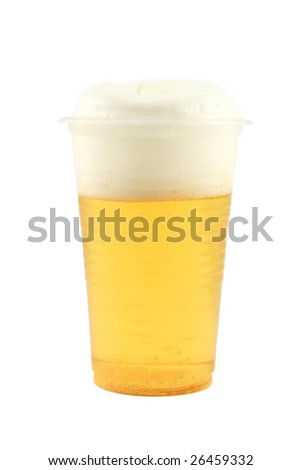 stock-photo-plastic-cup-with-beer-and-fr