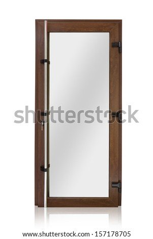 Plastic door isolated on white background  sc 1 st  Shutterstock & Plastic Door Stock Images Royalty-Free Images \u0026 Vectors ...