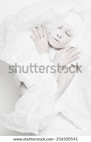 Plastic fashion - stock photo