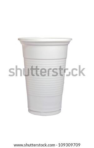 plastic Glass - stock photo
