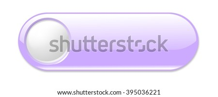 Plastic, glossy, modern, bright website search, browse button on white background. - stock photo