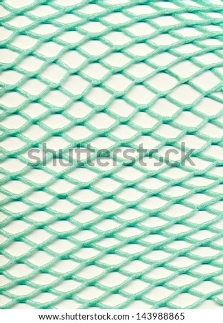 Plastic mesh - stock photo