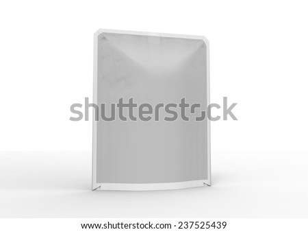 plastic package - stock photo